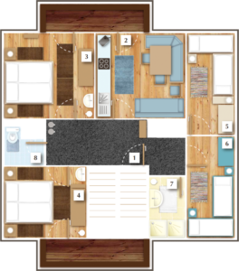 Grundriss Apartment Astlehen