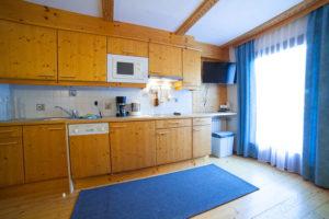 Küche Apartment Astlehen