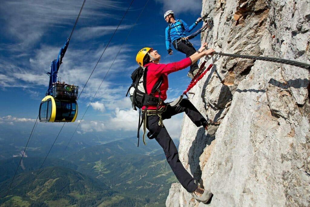 Klettern am Dachstein